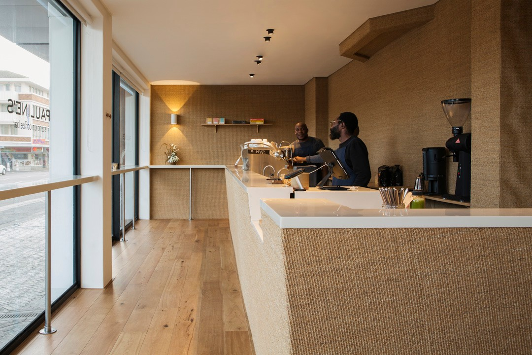 Pauline's coffee, near Cape Town (designed by Master Studio)