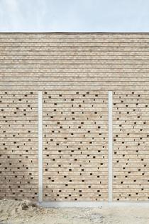 Statie Stuifduin, Lommel, Belgium (designed by a2o architecten, 2018)