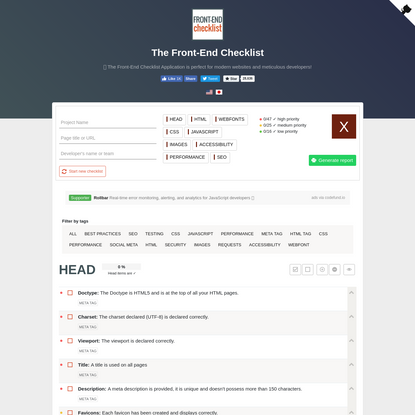 ✨ Your best Front-End Tool ✨