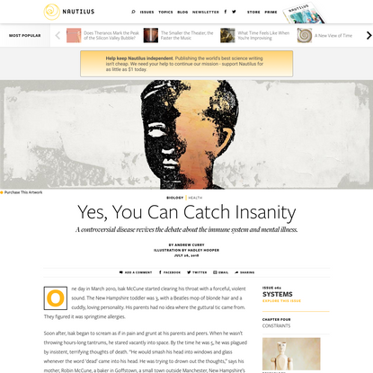 Yes, You Can Catch Insanity - Issue 62: Systems - Nautilus