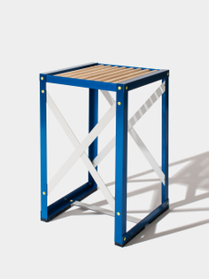 Scaffolding Chair, Pattern #2 (designed by Justin Sloane, 2015)