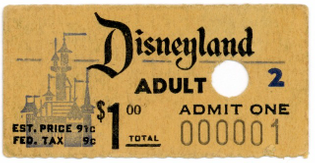 First ticket