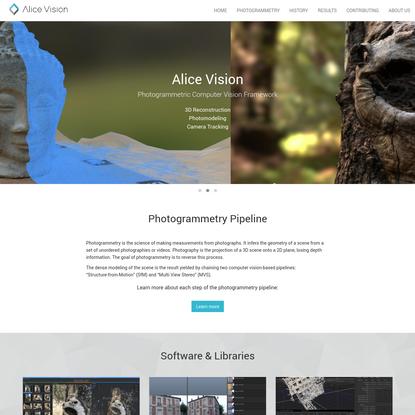 AliceVision   Photogrammetric Computer Vision Framework