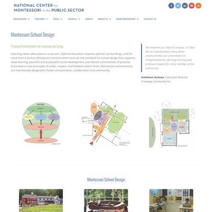 Montessori School Design - National Center for Montessori in the Public Sector
