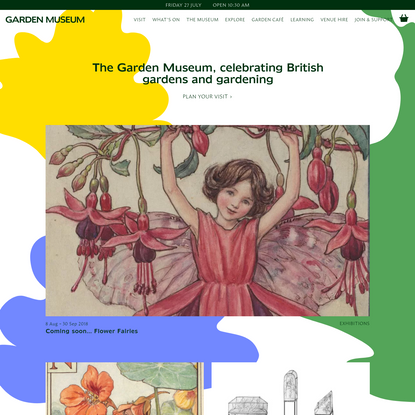 Garden Museum - celebrating British gardens and gardening