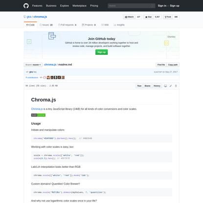 chroma.js/readme.md at master · gka/chroma.js