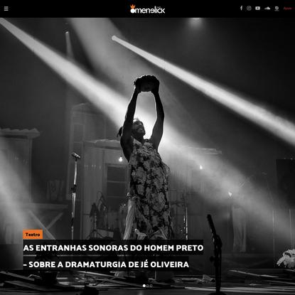 Revista O Menelick 2° Ato - A viabilidade, coerência e eficiência editorial da Revista O Menelick 2º Ato passa por um corpo ...