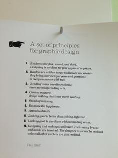 Paul Stiff: Principles
