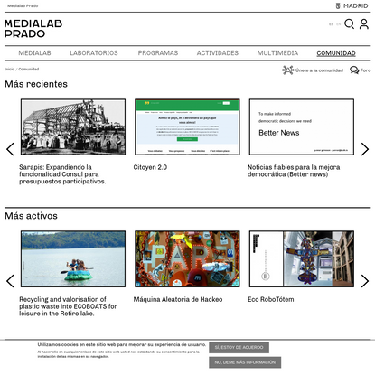 Comunidad | Medialab-Prado Madrid