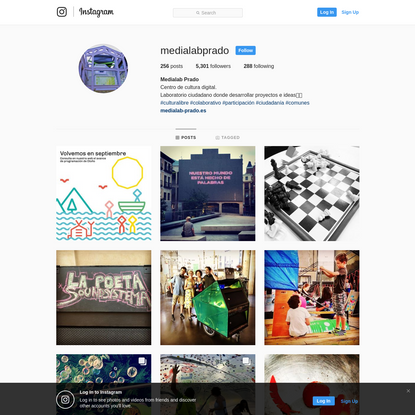 Medialab Prado (@medialabprado) * Instagram photos and videos