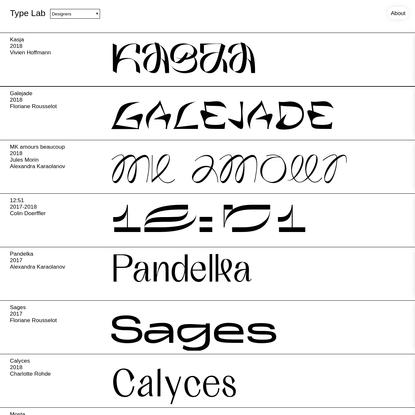 Type Lab