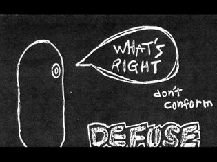 Defuse - What's Right Don't Conform (Tape 1999)