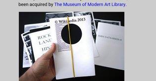 Library of the Printed Web at MoMA