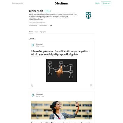 CitizenLab - Medium