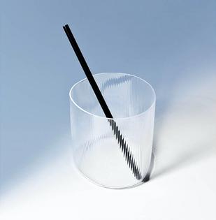 Glass tumbler (designed by Milena Kling)