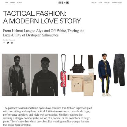 Tactical Fashion: A Modern Love Story