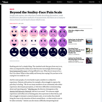 Beyond the Smiley-Face Pain Scale