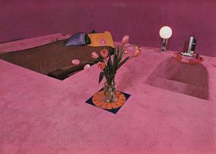 'Carpetscape' by Emanuelle and Quaser Khanh, 1969