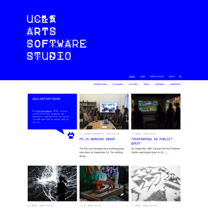 UCLA ARTS S0FTWARE STUDI0