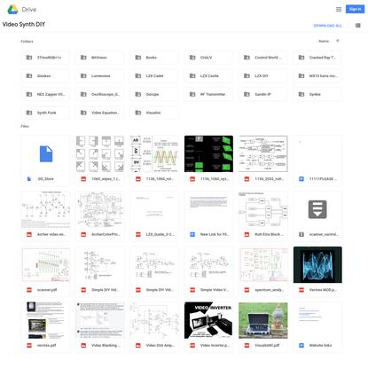 Video Synth DIY - Google Drive