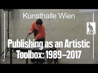 Design as a Medium - Publishing as an Artistic Toolbox