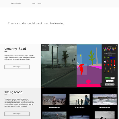 Latent Studio - Creative studio specializing in machine learning