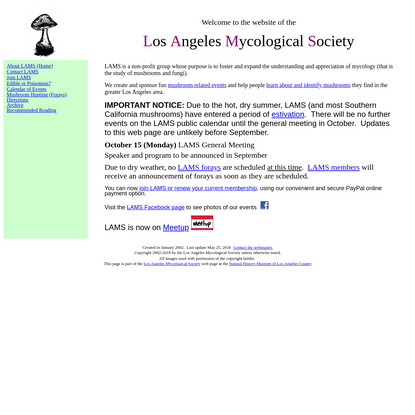 LAMS Homepage