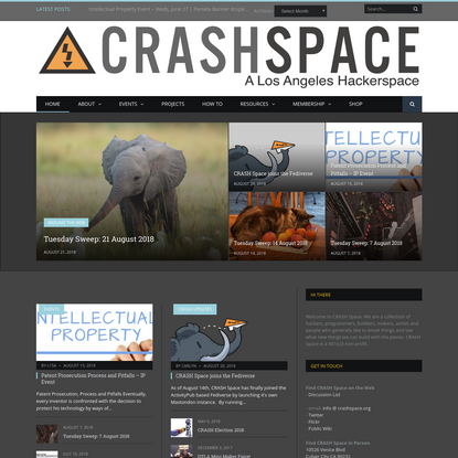 CRASH Space - A Los Angeles hackerspace
