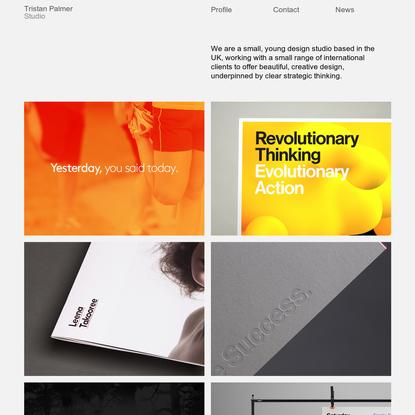 Tristan Palmer Studio - Graphic Design