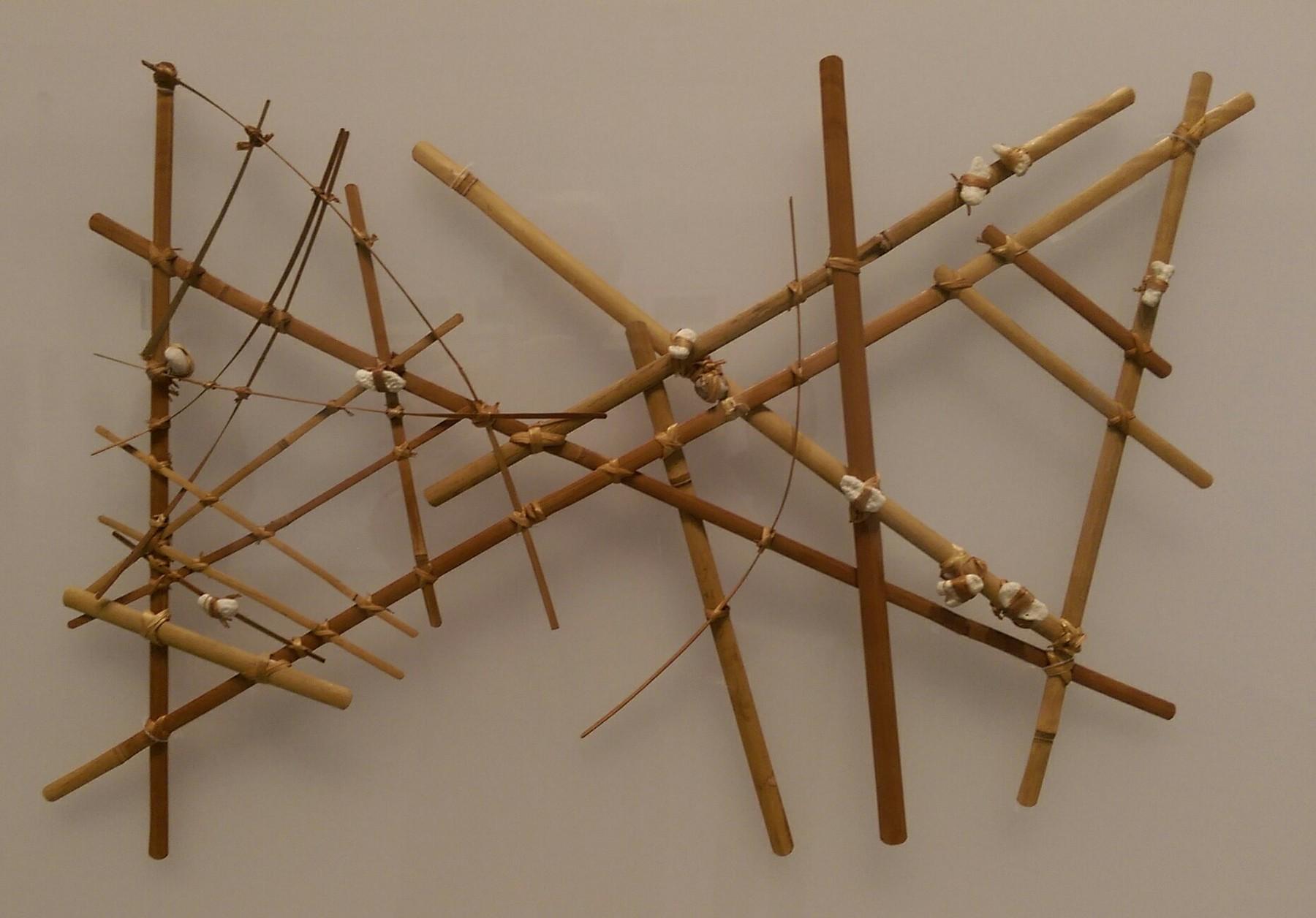 Marshall Islands stick chart (Micronesian)