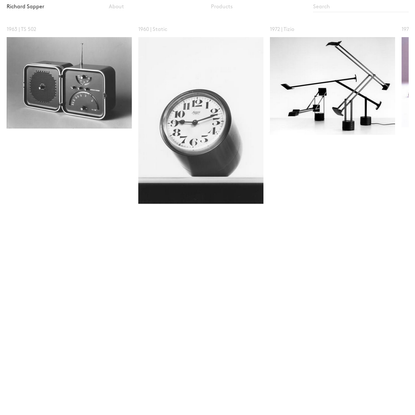 Richard Sapper - Homepage