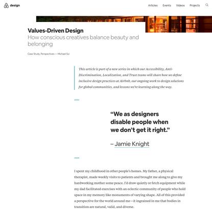 Values-Driven Design