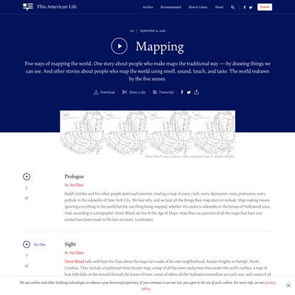Mapping - This American Life