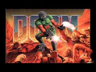 Doom (PC) - The Imps Song (E1M2) Music EXTENDED