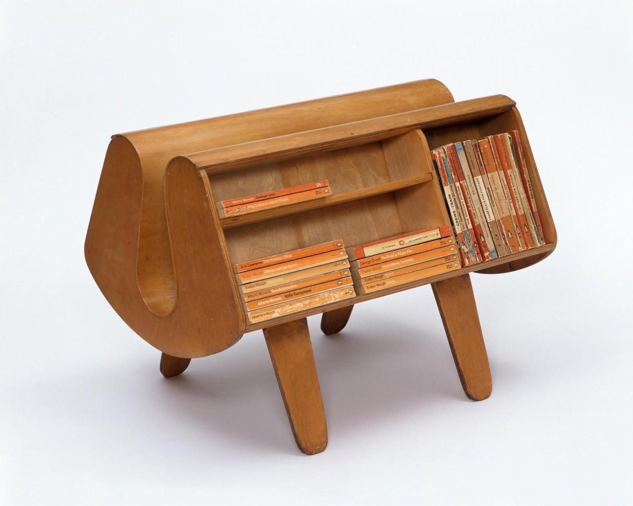 Penguin Donkey bookcase, Egon Riss, 1939