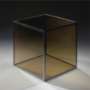 Larry Bell - Glass cube,1966