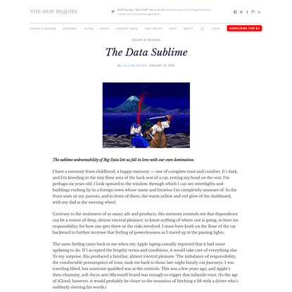 The Data Sublime