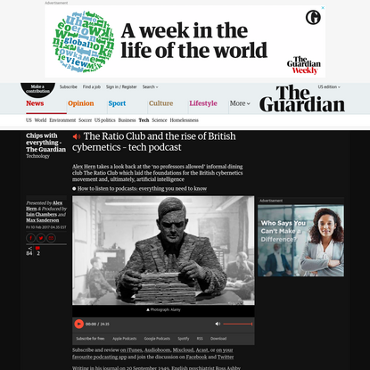 The Ratio Club and the rise of British cybernetics – tech podcast | Technology | The Guardian
