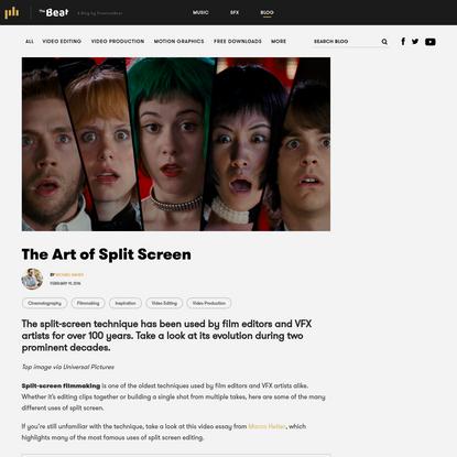 The Art of Split Screen