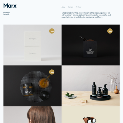 Marx Design Ltd | Branding & Packaging