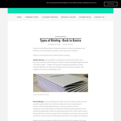 Types of Binding - Back to Basics