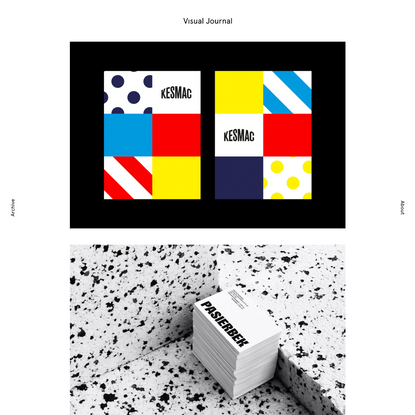 Visual Journal   Branding, Editorial and Graphic Design