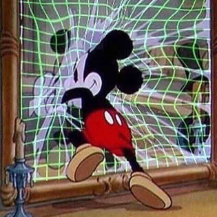 Mickey Mouse, cyborg femme