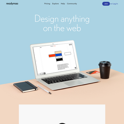 Readymag - Design anything on the web