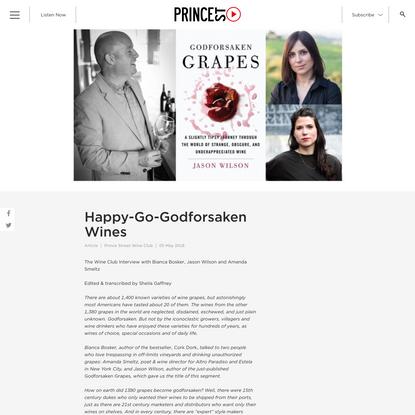 Happy-Go-Godforsaken Wines