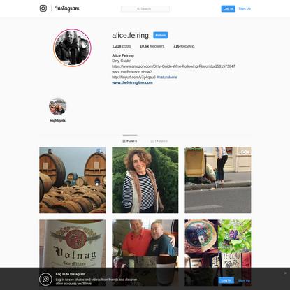 Alice Feiring (@alice.feiring) * Instagram photos and videos