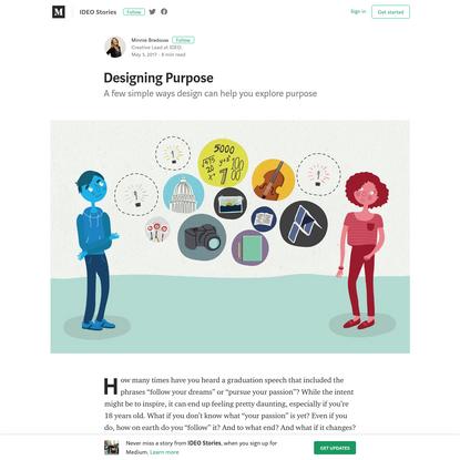 Designing Purpose — HeyDesigner