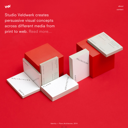 Studio Veldwerk | Graphic Design Studio - home