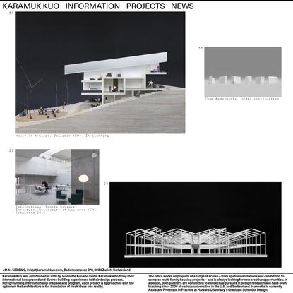 Karamuk Kuo Architects