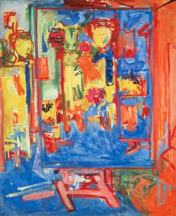 Hans Hoffman, Untitled (Interior Composition), c. 1935.